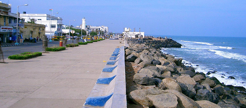Promenade Beach | Pondicherry