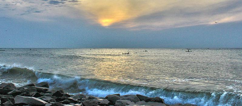 Walk Along The Promenade Beach